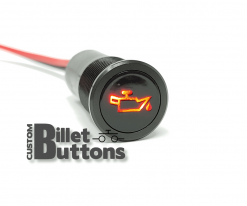 14mm Car Dash Pilot Led Light