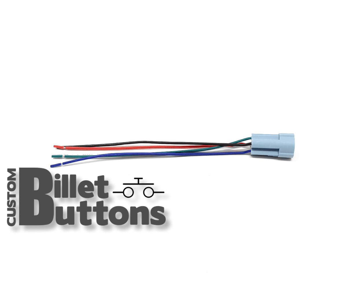 pigtails connector  u2022 custom billet buttons