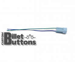 Pigtails Connector for 16mm Billet Buttons without LED