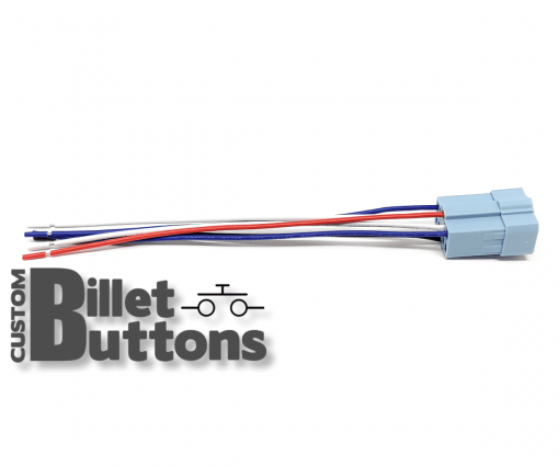 Pigtails Connector for 30mm Billet Buttons with LED