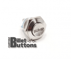 BUMP 16mm Laser Etched Custom Billet Buttons