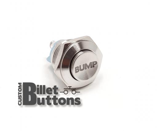 BUMP 16mm Laser Etched Custom Billet Buttons