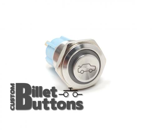 TRUNK POP 16mm Laser Etched Billet Buttons