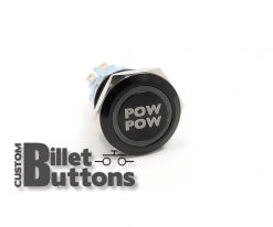 POW POW 2 STEP 19mm Custom Billet Buttons