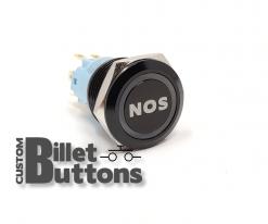 NOS 19mm Laser Etched Billet Buttons