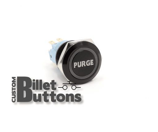 PURGE 19mm Custom Billet Buttons