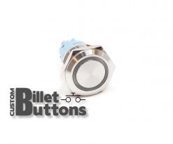 19mm Custom Billet Buttons