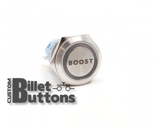 BOOST 19mm Custom Billet Buttons
