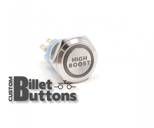 HIGH BOOST 19mm Custom Billet Buttons