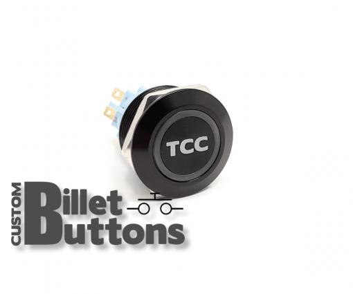 TCC TORQUE CONVERTER CONTROL 22mm Custom Billet Buttons