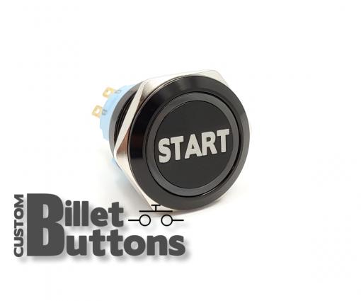 START 25mm Custom Billet Buttons