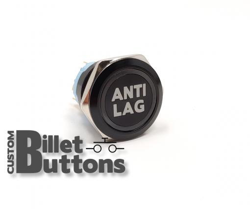 Antilag 25mm Laser Etched Billet Buttons