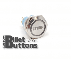 25mm Custom Billet Buttons