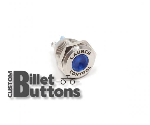 Custom Laser Etched 16mm LED Pilot Light