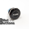 FANS 22mm Laser Etched Billet Buttons