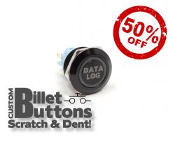 Scratch & Dent DATALOG Billet Buttons