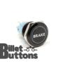 BRAKE 19mm Laser Etched Billet Buttons