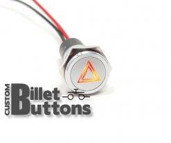 12V LED HAZARD Indicator 16mm