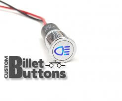 14mm High Beam Dash Pilot Led Light