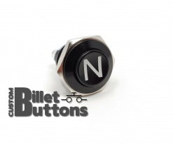 N NEUTRAL 16mm Laser Etched Billet Buttons