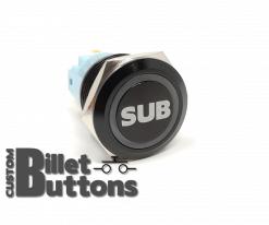 SUB 19mm Laser Etched Billet Buttons