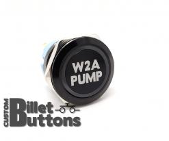 W2A PUMP 25mm Custom Billet Buttons
